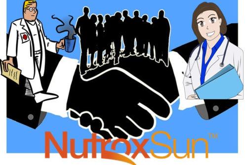 ニュートロックスサンは大学の博士と企業の共同開発